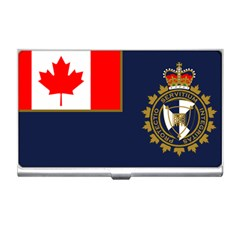 Flag Of Canada Border Services Agency Business Card Holder
