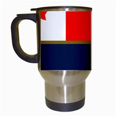 Flag Of Canada Border Services Agency Travel Mugs (white) by abbeyz71