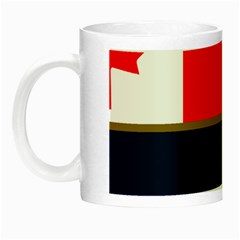 Flag Of Canada Border Services Agency Night Luminous Mugs by abbeyz71