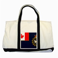 Flag Of Canada Border Services Agency Two Tone Tote Bag by abbeyz71