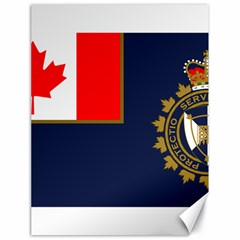 Flag Of Canada Border Services Agency Canvas 18  X 24  by abbeyz71