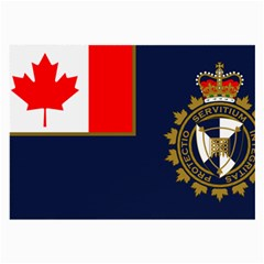 Flag Of Canada Border Services Agency Large Glasses Cloth (2 Side) by abbeyz71