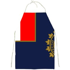 Flag Of Canada Border Services Agency Full Print Aprons by abbeyz71