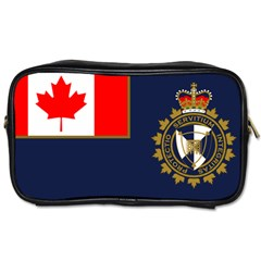Flag Of Canada Border Services Agency Toiletries Bag (two Sides) by abbeyz71