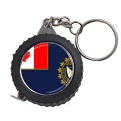 Flag Of Canada Border Services Agency Measuring Tape by abbeyz71
