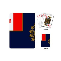 Flag Of Canada Border Services Agency Playing Cards (mini) by abbeyz71