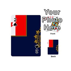 Flag Of Canada Border Services Agency Playing Cards 54 (mini) by abbeyz71