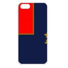 Flag Of Canada Border Services Agency Apple Iphone 5 Seamless Case (white) by abbeyz71