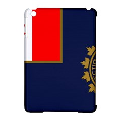Flag Of Canada Border Services Agency Apple Ipad Mini Hardshell Case (compatible With Smart Cover) by abbeyz71