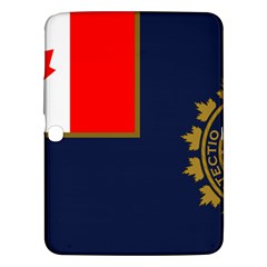 Flag Of Canada Border Services Agency Samsung Galaxy Tab 3 (10 1 ) P5200 Hardshell Case