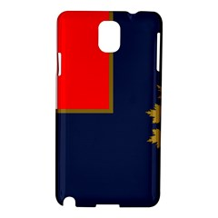 Flag Of Canada Border Services Agency Samsung Galaxy Note 3 N9005 Hardshell Case by abbeyz71