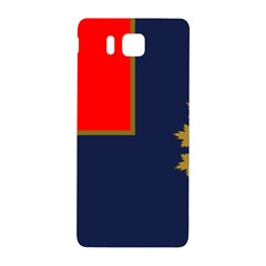 Flag Of Canada Border Services Agency Samsung Galaxy Alpha Hardshell Back Case by abbeyz71