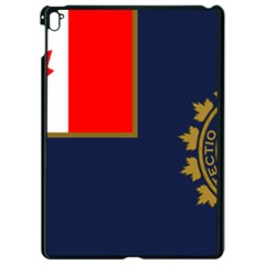 Flag Of Canada Border Services Agency Apple Ipad Pro 9 7   Black Seamless Case by abbeyz71