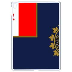 Flag Of Canada Border Services Agency Apple Ipad Pro 9 7   White Seamless Case by abbeyz71