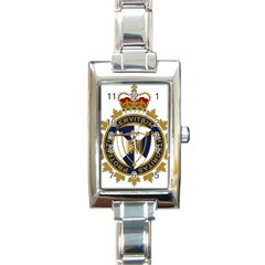 Badge Of Canada Border Services Agency Rectangle Italian Charm Watch by abbeyz71