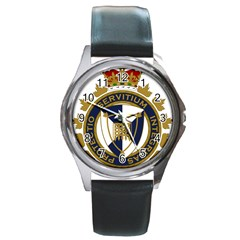 Badge Of Canada Border Services Agency Round Metal Watch by abbeyz71