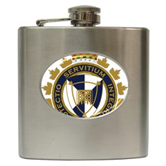 Badge Of Canada Border Services Agency Hip Flask (6 Oz) by abbeyz71