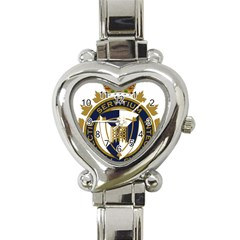 Badge Of Canada Border Services Agency Heart Italian Charm Watch by abbeyz71