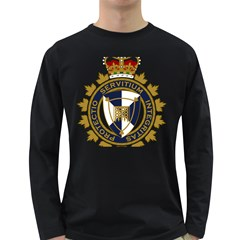 Badge Of Canada Border Services Agency Long Sleeve Dark T Shirt by abbeyz71