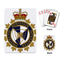 Badge Of Canada Border Services Agency Playing Cards Single Design by abbeyz71