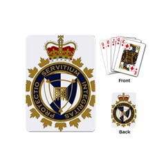 Badge Of Canada Border Services Agency Playing Cards (mini) by abbeyz71