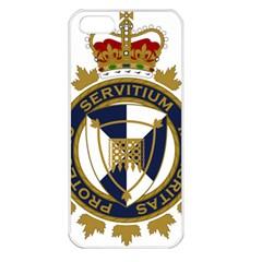 Badge Of Canada Border Services Agency Apple Iphone 5 Seamless Case (white) by abbeyz71