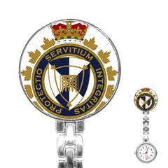 Badge Of Canada Border Services Agency Stainless Steel Nurses Watch by abbeyz71