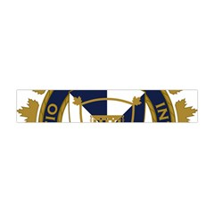 Badge Of Canada Border Services Agency Flano Scarf (mini) by abbeyz71