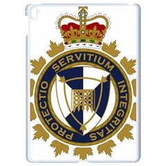 Badge Of Canada Border Services Agency Apple Ipad Pro 9 7   White Seamless Case by abbeyz71