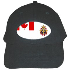 Flag Of Canadian Armed Forces Black Cap by abbeyz71