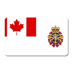 Flag Of Canadian Armed Forces Magnet (rectangular) by abbeyz71
