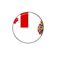 Flag Of Canadian Armed Forces Hat Clip Ball Marker by abbeyz71