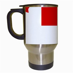 Flag Of Canadian Armed Forces Travel Mugs (white) by abbeyz71