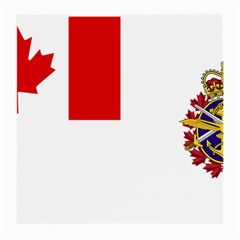 Flag Of Canadian Armed Forces Medium Glasses Cloth by abbeyz71