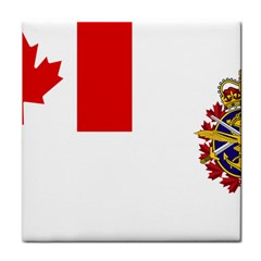 Flag Of Canadian Armed Forces Face Towel by abbeyz71