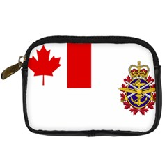 Flag Of Canadian Armed Forces Digital Camera Leather Case