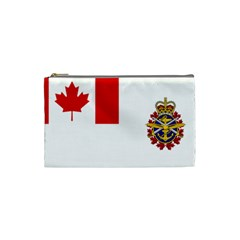 Flag Of Canadian Armed Forces Cosmetic Bag (small) by abbeyz71