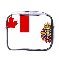 Flag Of Canadian Armed Forces Mini Toiletries Bag (one Side)