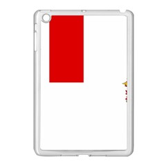 Flag Of Canadian Armed Forces Apple Ipad Mini Case (white)