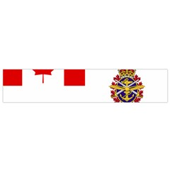 Flag Of Canadian Armed Forces Small Flano Scarf by abbeyz71
