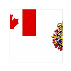Flag Of Canadian Armed Forces Small Satin Scarf (square)