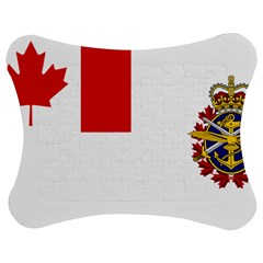 Flag Of Canadian Armed Forces Jigsaw Puzzle Photo Stand (bow) by abbeyz71
