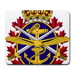 Badge Of Canadian Armed Forces Large Mousepads