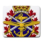 Badge of Canadian Armed Forces Large Mousepads Front