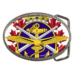 Badge Of Canadian Armed Forces Belt Buckles by abbeyz71
