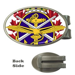 Badge Of Canadian Armed Forces Money Clips (oval)  by abbeyz71