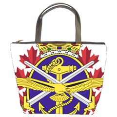 Badge Of Canadian Armed Forces Bucket Bag by abbeyz71