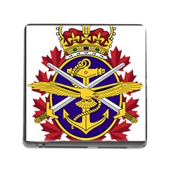 Badge Of Canadian Armed Forces Memory Card Reader (square 5 Slot) by abbeyz71
