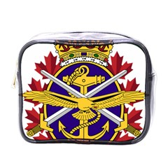 Badge Of Canadian Armed Forces Mini Toiletries Bag (one Side) by abbeyz71