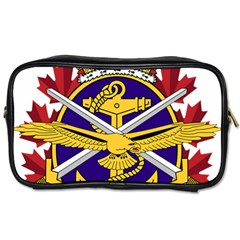 Badge Of Canadian Armed Forces Toiletries Bag (one Side) by abbeyz71